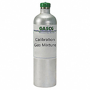 Calibration Gas,Nitrogen,34L,Aluminum
