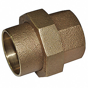 "Cast Copper Union, C x C Connection Type, 3"" Tube Size"