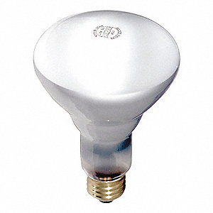 65 Watts Incandescent Lamp, BR30, Medium Screw (E26), 610 Lumens, 2800K Bulb Color Temp.