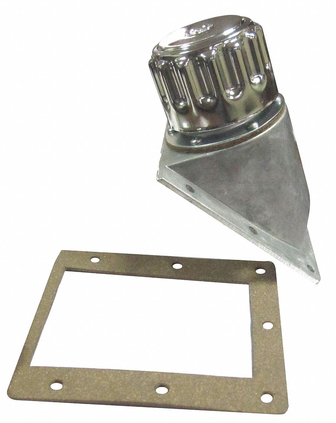 Reservoir Filler Breather, 6 1 Body Length (In ), Nickel-Chrome-Plated  Steel Cap Material