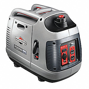 Portable Inverter Generator, 120VAC Voltage, 1700 Rated Watts, 2100 Surge Watts, 13/NA Amps @ 120/24