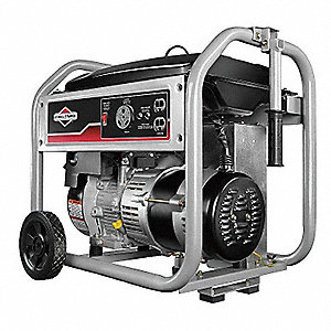 Portable Generator, 120VAC Voltage, 3500 Rated Watts, 4375 Surge Watts, 29/NA Amps @ 120/240V