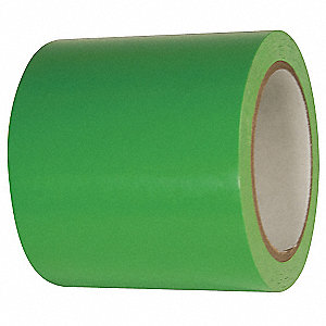 "Floor Marking Tape, Solid, Roll, 4"" x 216 ft., 2 PK"