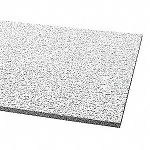CEILING TILE,SQ.LAY-IN,24X48X5/8,PK12