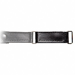 Extension Strap,3 in. L,Black,PR