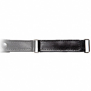 Extension Strap,5 in. L,Black,PR
