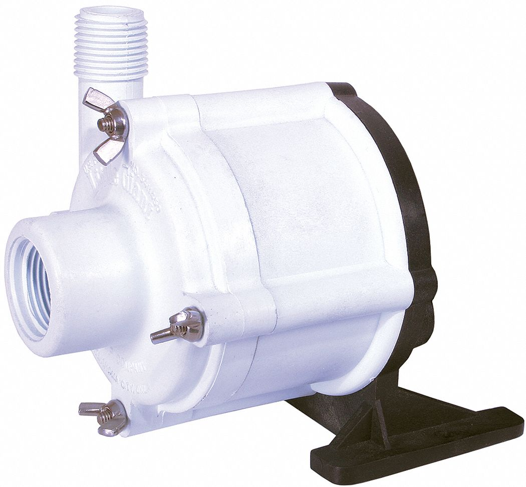 Chemical-resistant C-face Pump Heads