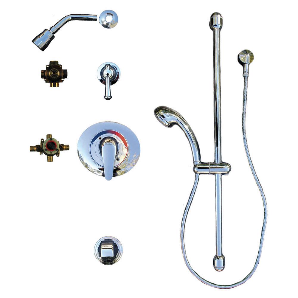 AMERICAN STANDARD Metal Handheld Shower Head Kit, 1.50 gpm, 1/2\