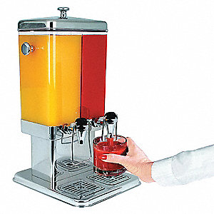 Beverage Dispenser,Double,10L