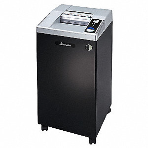 Commercial Paper Shredder, Micro-Cut Cut Style, Security Level 5