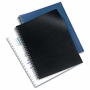 Presentation Covers,Blk,11 x 8-1/2,PK50
