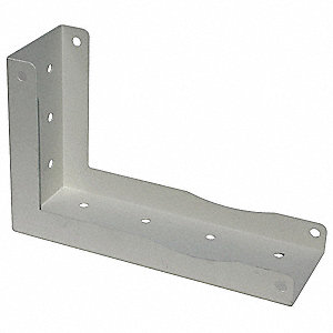 "Mounting Bracket For Use With LE6500 Series Reel, 9""L x 0.5""W x 9""H"