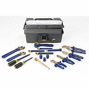 "Insulated Tool Set, Number of Pieces: 17, 3/8"" Drive Size"