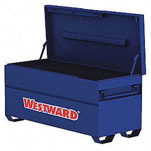 "27-3/4"" x 24"" x 72"" Jobsite Chest, 23.2 cu. ft., Blue"