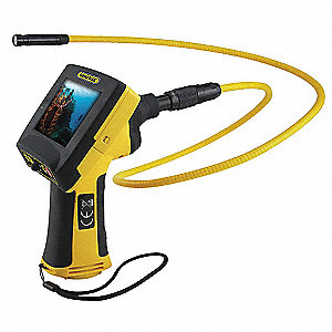Video Borescope,3.4 In,39 In Shaft