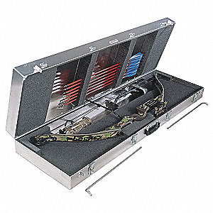 Gun Case,Compound Bow with Arrow Storage