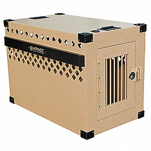 "X-Large Stationary Dog Crate, 40"" Length, 23"" Width, 28"" Height"