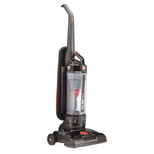 Upright Vacuum,  Bagless,  13 in Cleaning Path Width,  59 cfm,  15.7 lb Weight,  120 V Voltage