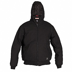 Jacket,No Insulation,Black,XL