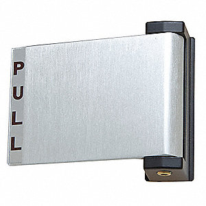 Exit Device, Series 459, Aluminum, Deadlatch Push/Pull Paddle