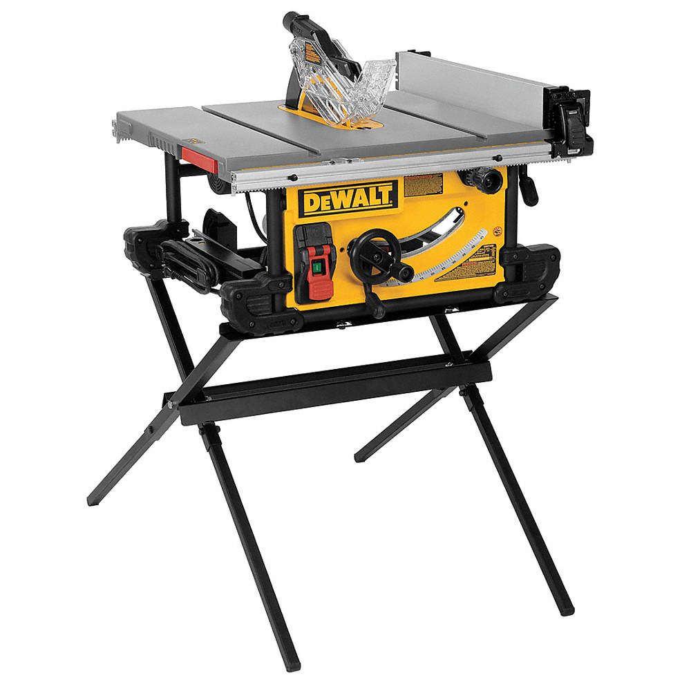 Dewalt 10 portable table saw 150 amps blade tilt right 58 zoom outreset put photo at full zoom then double click greentooth Choice Image