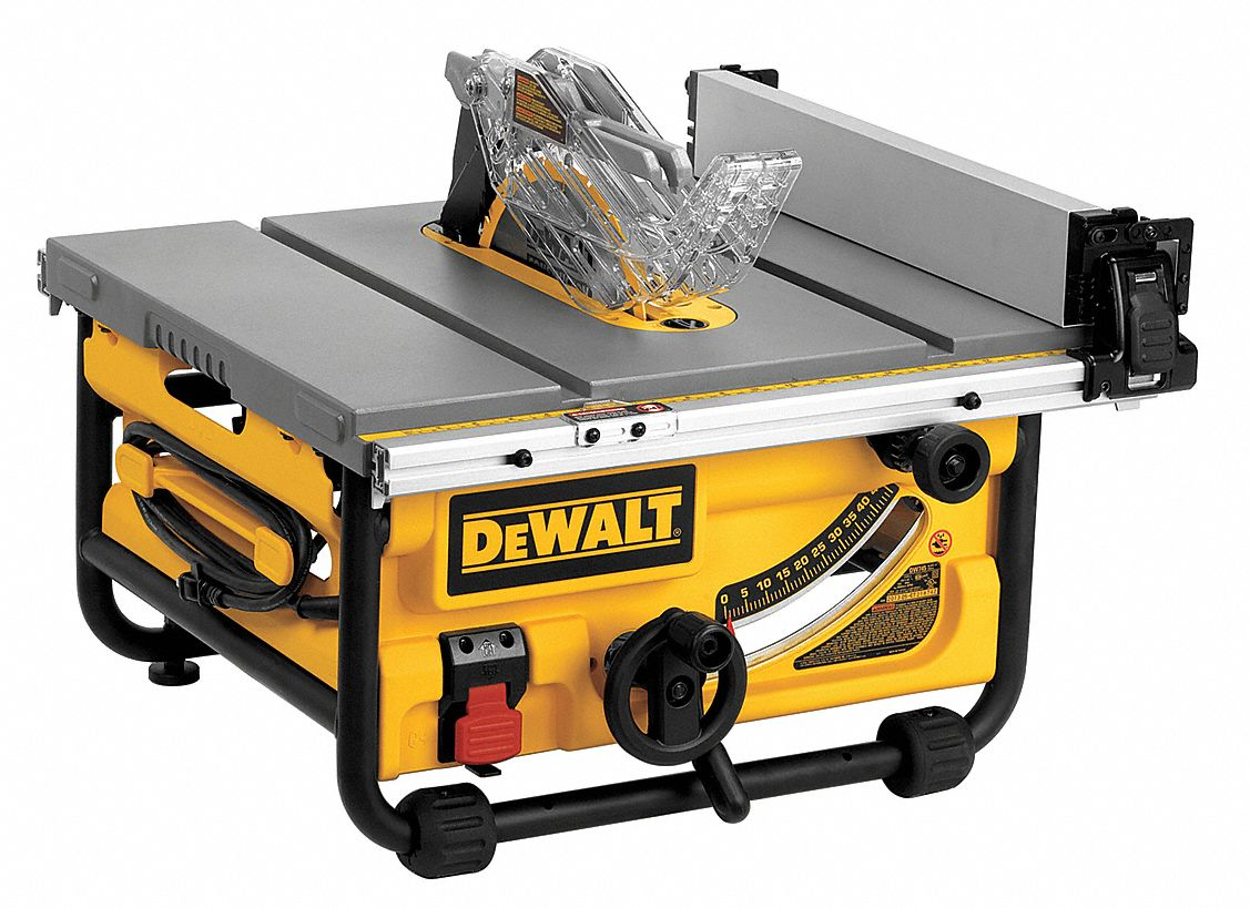 Dewalt table saw 10 in model dwe7480 tools for shop for 12 dewalt table saw