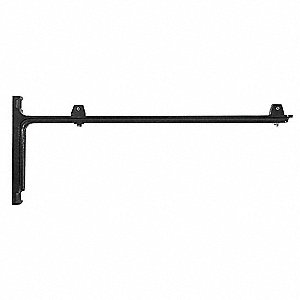 Sign Mounting Brackets,Aluminum,Black