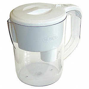 Water Filter Pitcher System, For Use With: Replacement Filter Cartridges WFPTC100X, WFPTC102X