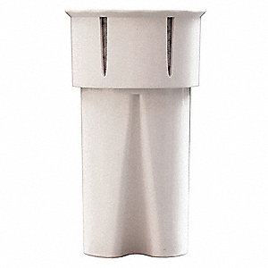 Water Filter Pitcher Cartridge, 0.5 Microns, 0.26 gpm Flow Rate