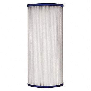 "25 Micron Rating Filter Cartridge, 4"" Diameter, 10"" Height, 10.00 gpm"