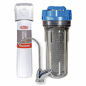 "3/4"" NPT Plastic Water Filter System, 5 gpm, 90 psi"