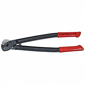 "Cable Cutter,18"" Overall Length,Shear Cut Cutting Action,Primary Application:  Wire Rope"