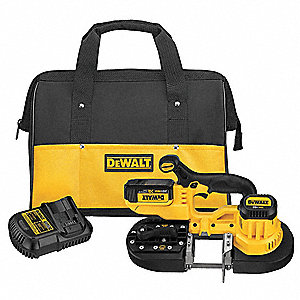 Cordless Band Saw Kit,20V,9.4 lb.