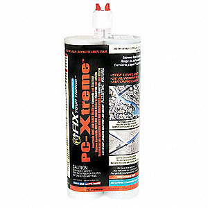 Gray Joint and Crack Filler, 22 oz. Dual Cartridge, Coverage: Not Specified