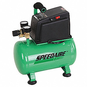 AIR COMPRESSOR,0.33 HP,120V,100 PSI