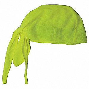 High-Performance Dew Rag, Moisture Wicking Fabric, Lime, Universal