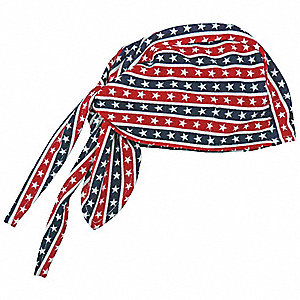 High-Performance Dew Rag, Moisture Wicking Fabric, Stars and Stripes, Universal