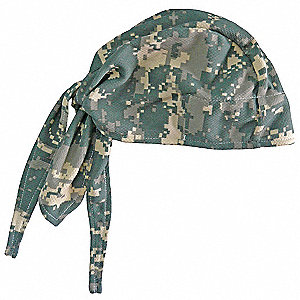 High-Performance Dew Rag, Moisture Wicking Fabric, Camouflage, Universal