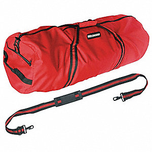 Duffel Bag,29x13x13In,600D Polyester,Red