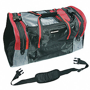 Gear Bag,Soft-Sided,Polyester,5 Pockets