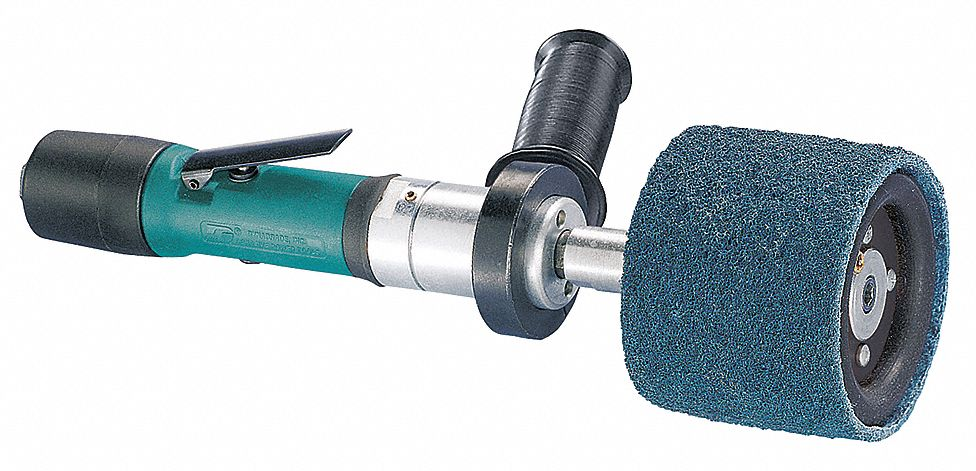 11 1/2 in Air Finishing Sander, 0.4 hp HP