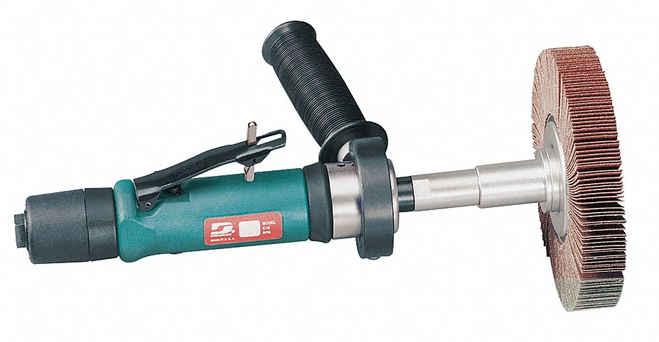 13 5/8 in Air Finishing Sander, 0.7 hp HP