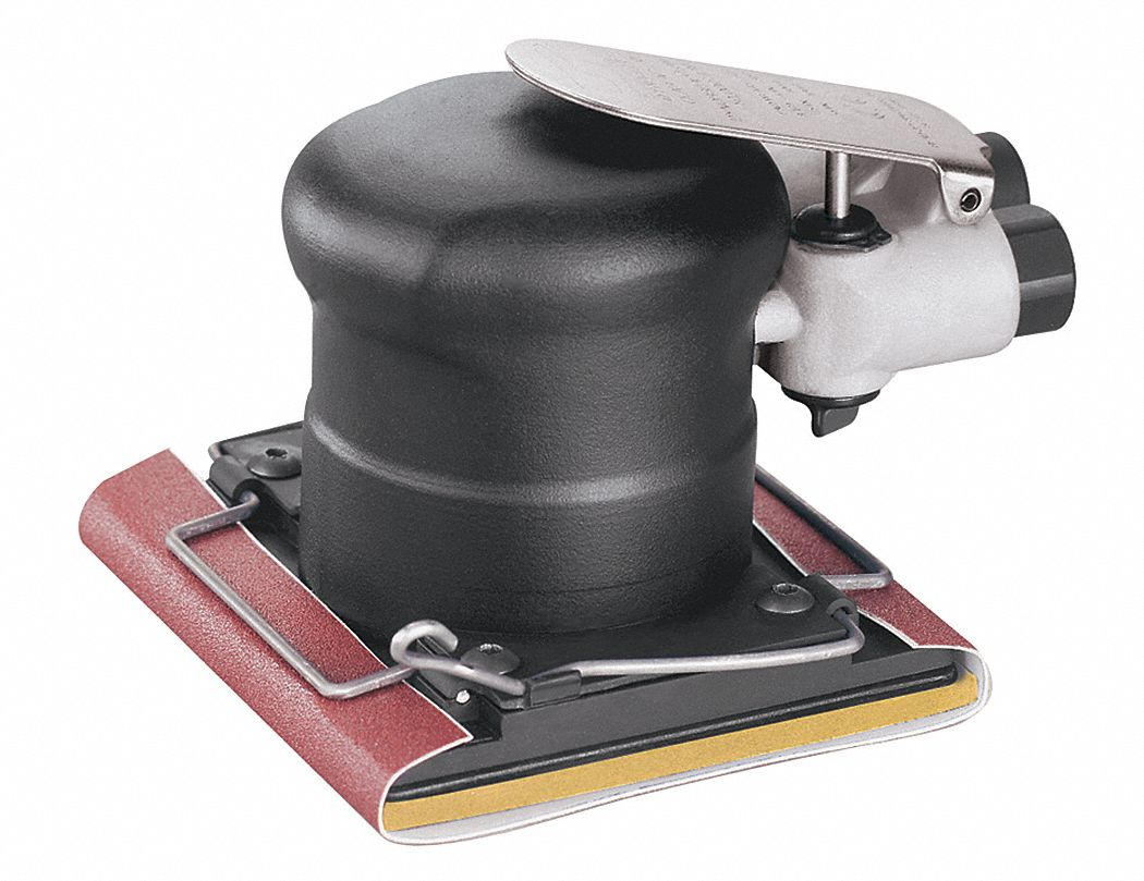 5 in Non-Vacuum Air Finishing Sander, 3 hp HP