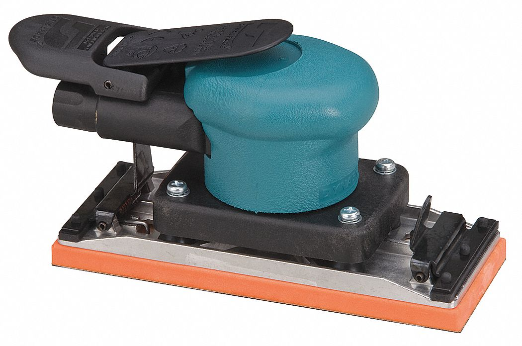 7 1/16 in Non-Vacuum Air Finishing Sander, 0.15 hp HP