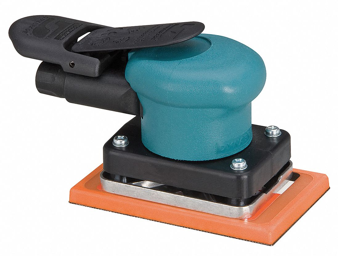 6 1/4 in Non-Vacuum Air Finishing Sander, 0.15 hp HP