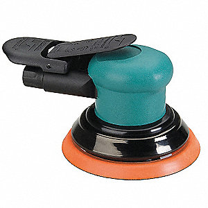 "6-1/2"" Non-Vacuum Air Random Orbital Sander with 5"" Pad Size"