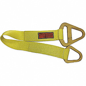 "12 ft. Triangle and Choker - Type 1 Web Sling, Nylon, Number of Plies: 1, 4"" W"