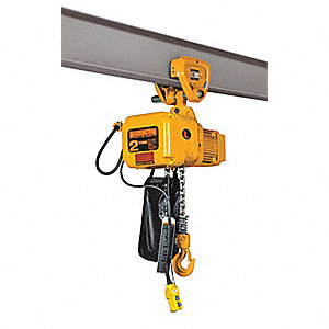 H4 Electric Chain Hoist, 1000 lb. Load Capacity, 115/230V, 20 ft. Hoist Lift, 7 fpm