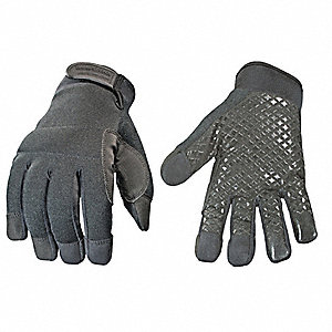 Military Touchscreen Glove,L,Black,PR