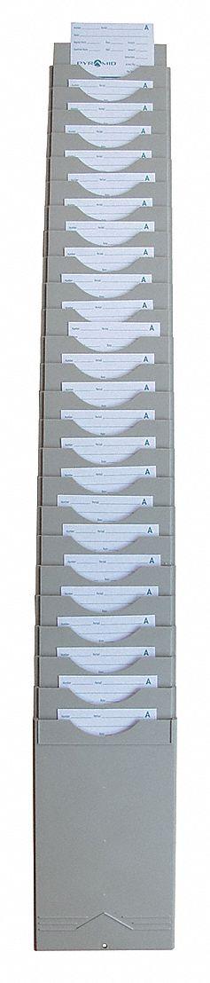 Time Card And Badge Racks